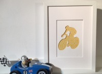 Cycling (medium frame 23x32cm)