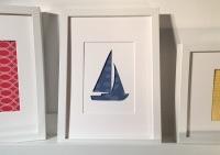 Sailing (medium frame 23x32cm)