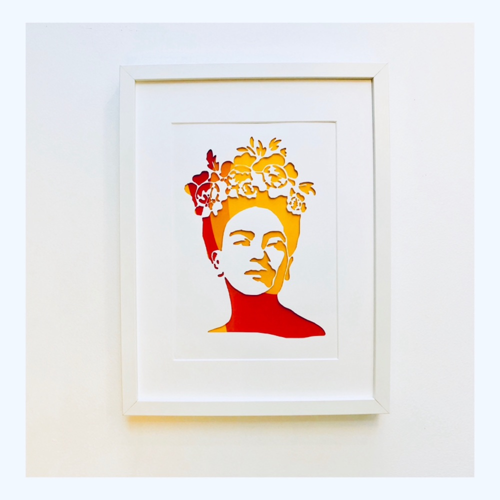 Frida (Large frame 32x42cm)