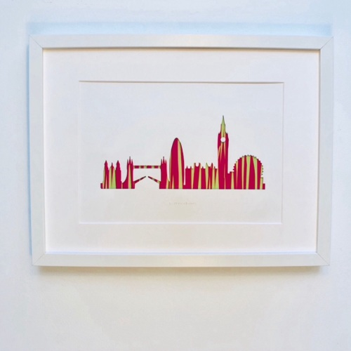 London Skyline (Large frame 32x42cm)