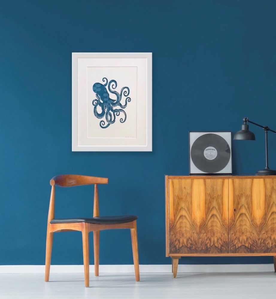 Octopus (Extra Large Frame 42x52 cm)