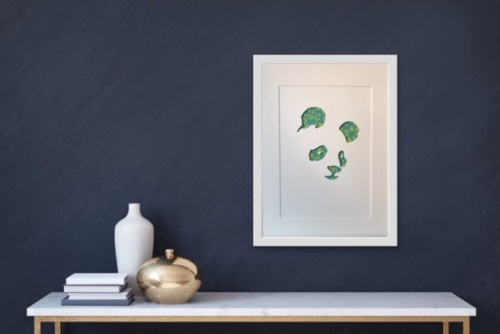 Panda (Large frame 42x32cm)