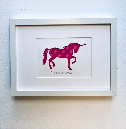 Unicorn (medium frame 23x32cm)
