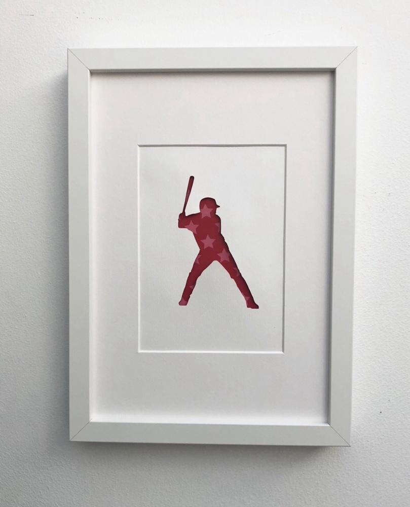 Baseball (medium frame 23x32cm)