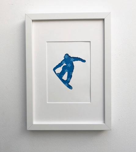 Snowboarding (medium frame 23x32cm)