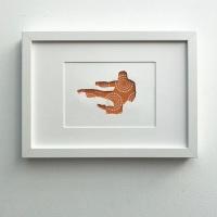 Karate (medium frame 23x32cm)