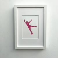 Ice skating (medium frame 23x32cm)