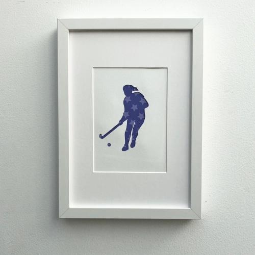 Hockey (medium frame 23x32cm)