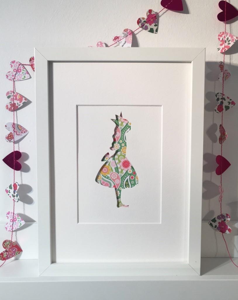 Princess (medium frame 23x32cm)