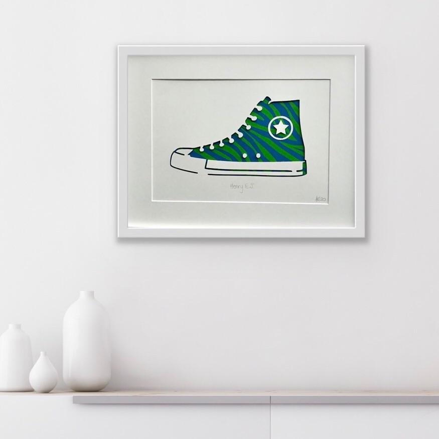 Converse (Large Frame 32x42cm)
