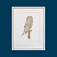 Owl (extra large frame 42x52 cm)