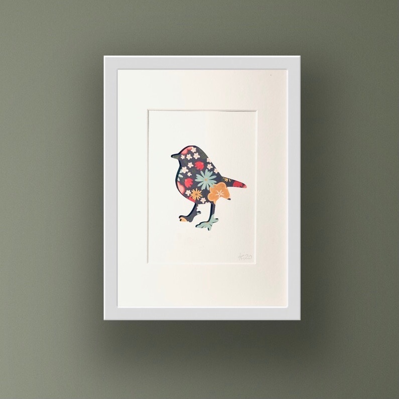 Robin (medium frame 23x32cm)