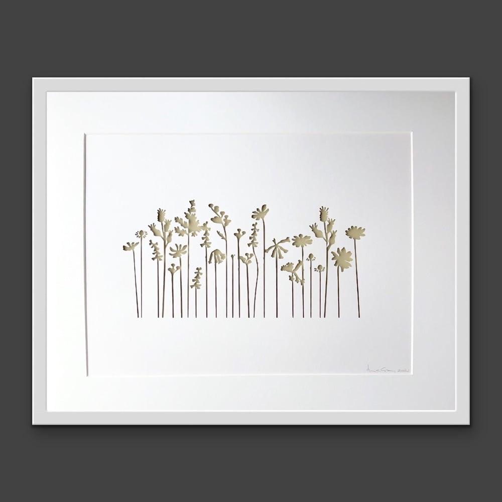 Wild Flowers (extra large frame 52x42cm)
