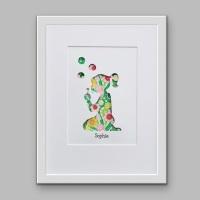 Bubbles (medium frame 23x32cm)
