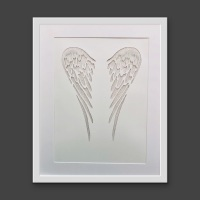 Angel Wings (extra large frame 42x52cm)