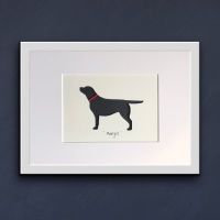 Labrador (medium frame 23x32cm)