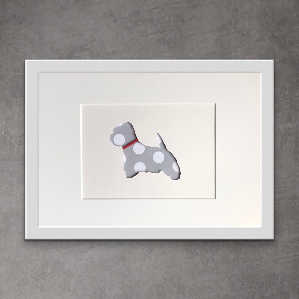 Westie (medium frame 23x32cm)