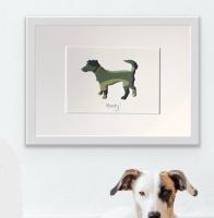 Jack Russell Terrier (medium frame 23 x 32 cm)