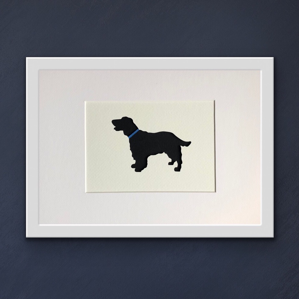 Cocker Spaniel (medium frame 23 x 32 cm)