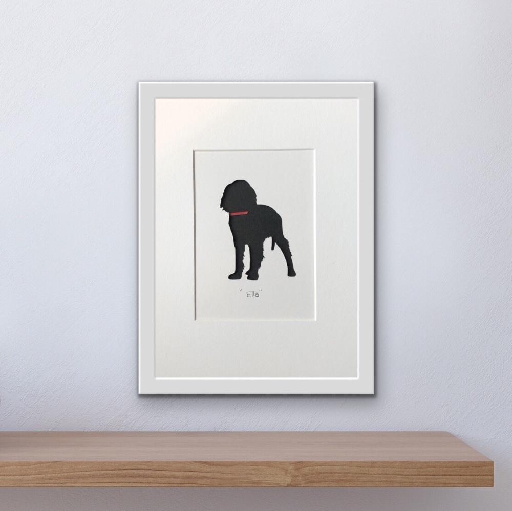 Working Cocker Spaniel (medium frame 23 x 32 cm)