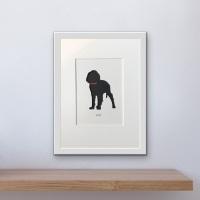 Spaniel (Working cocker) (medium frame 23 x 32 cm)