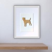 Border Terrier (medium frame 23 x 32cm)