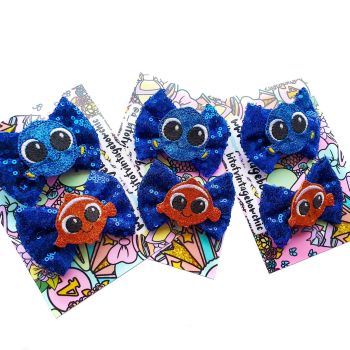 Under The Sea  Pig Tail Set.