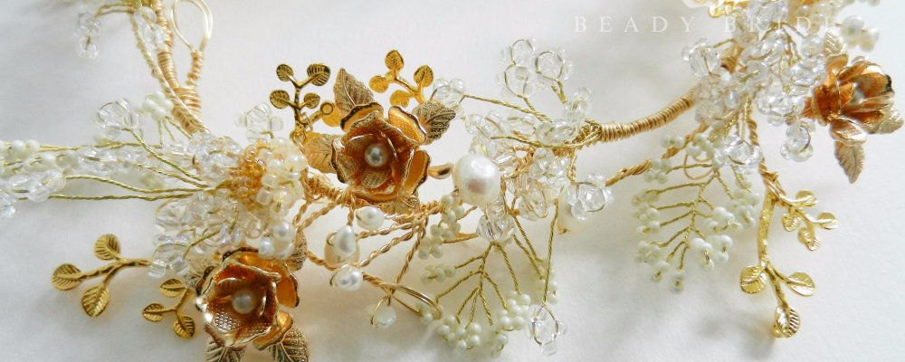 Rosea-Bridal hair wreath by Beady Bride-Uk (1)banner