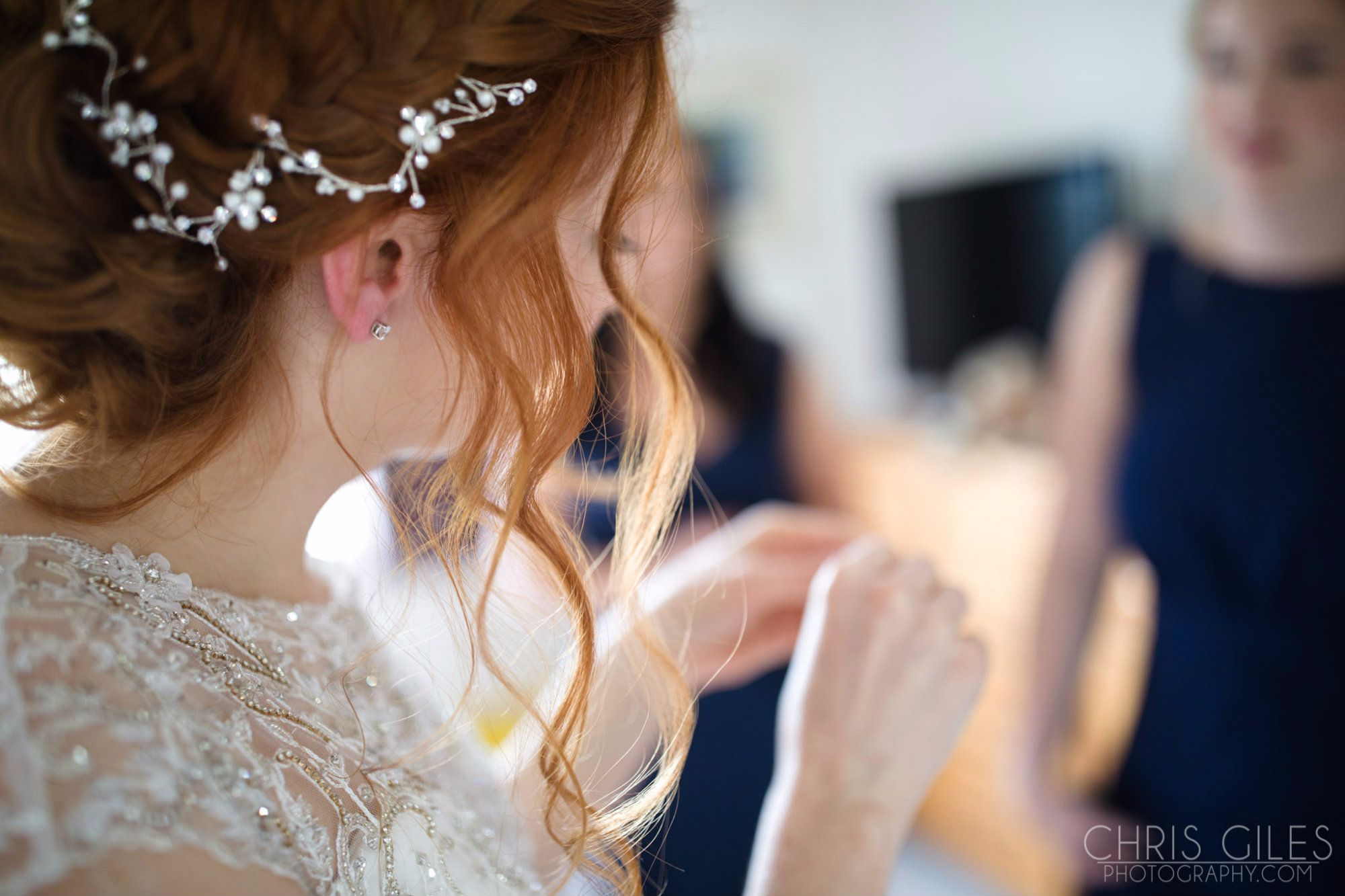 Wedding hair accessories gloucestershire - Styled By Sheena The Hair Accessories On Beady Bride