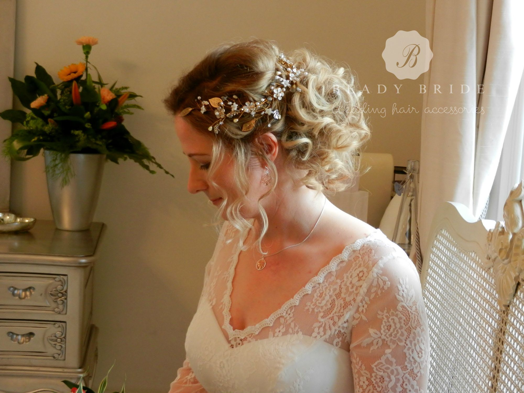 Wedding hair accessories gloucestershire - Bridal Hair And Hair Accessory By Sheena At Www Beadybride Com
