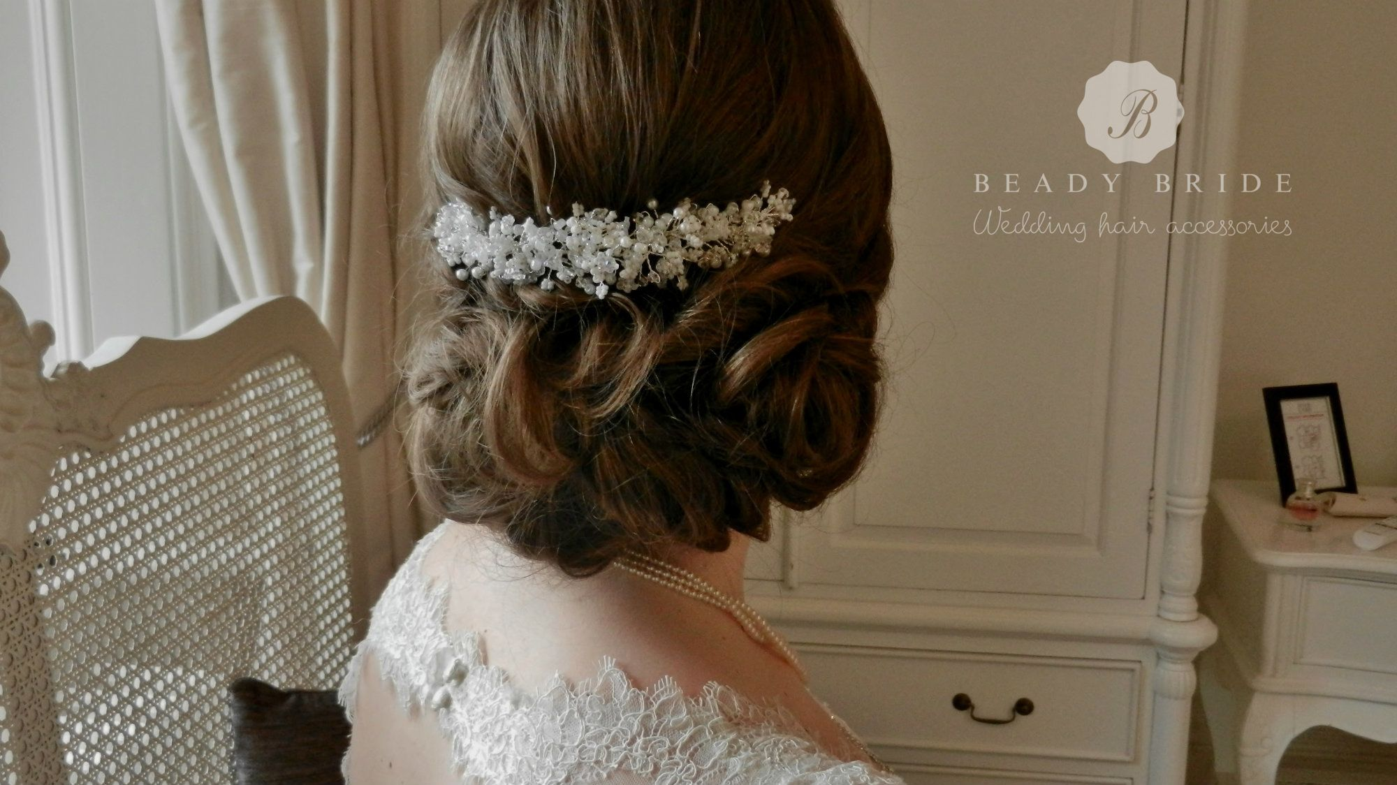Snow white Gypsophila-bridal hair-accessory-by Beady Bride-UK (6)