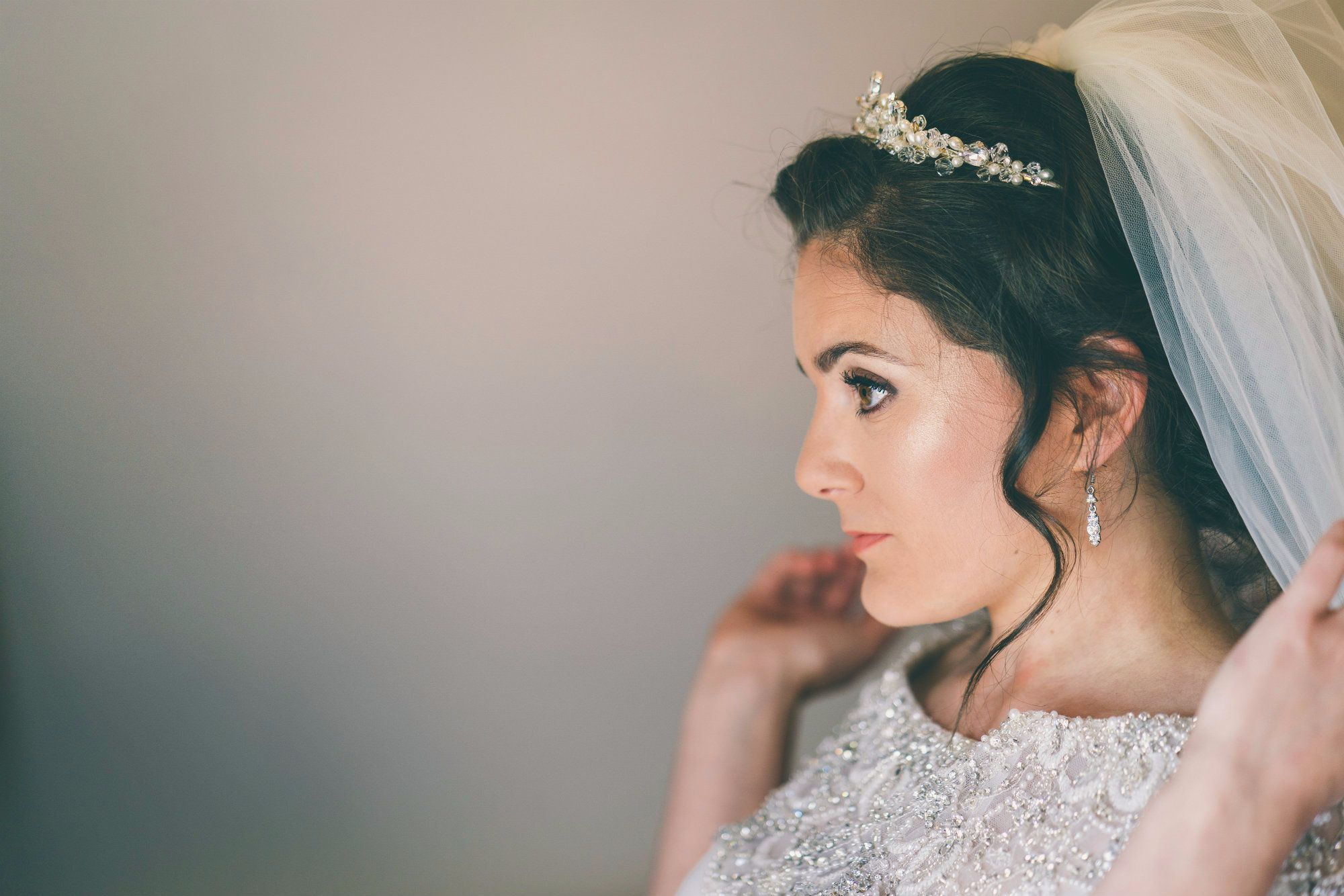Bridal hair tiaras and wedding hair vines-Gloucestershire-UK
