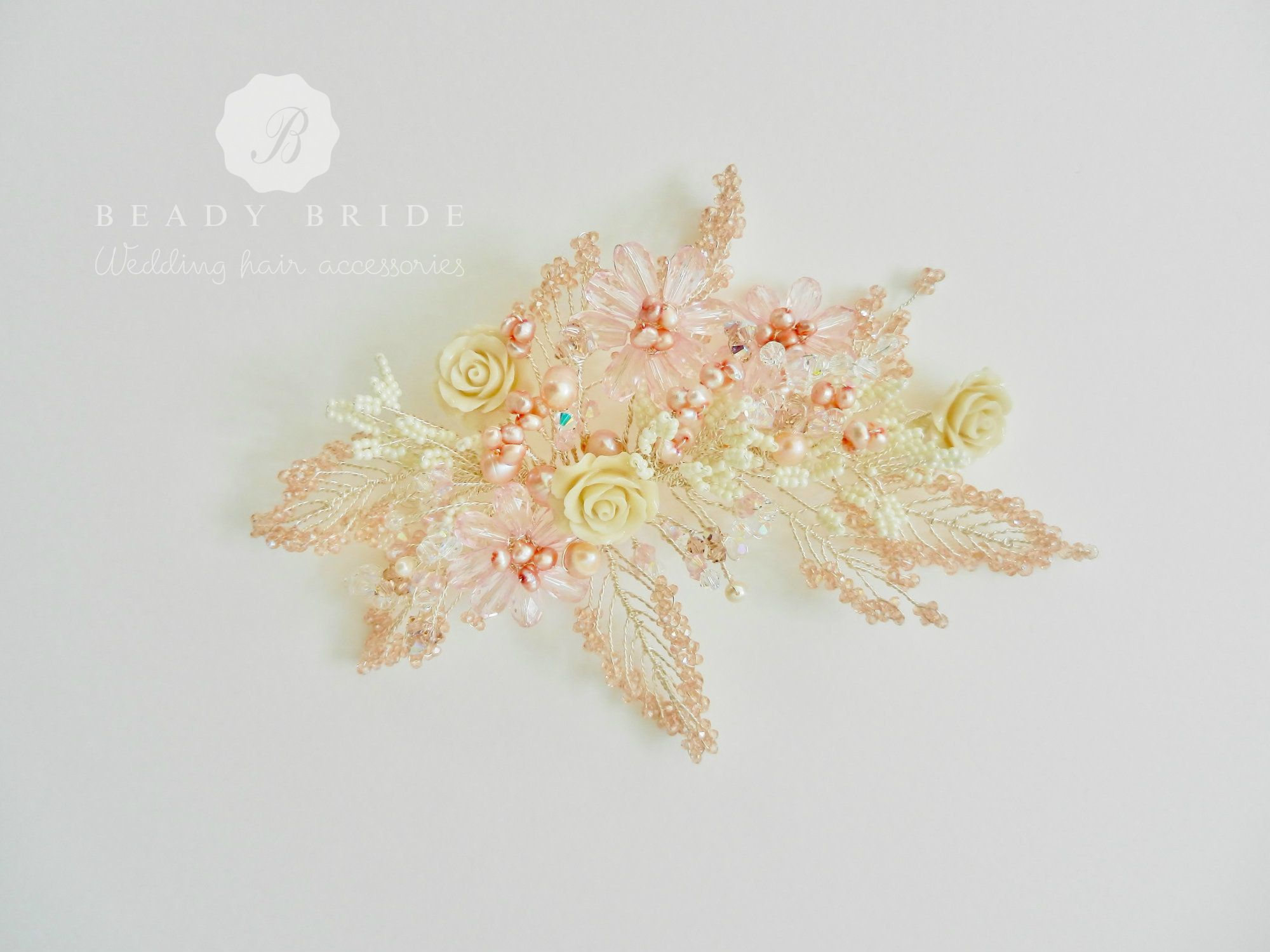 Bespoke-Floral-occasion&wedding-hair-accessory-UK