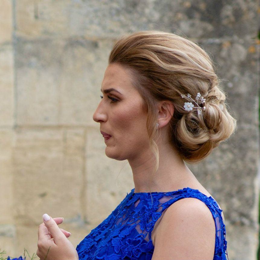 Bespoke wedding and bridal hair accessories-UK-Gloucestershire-Cotswolds