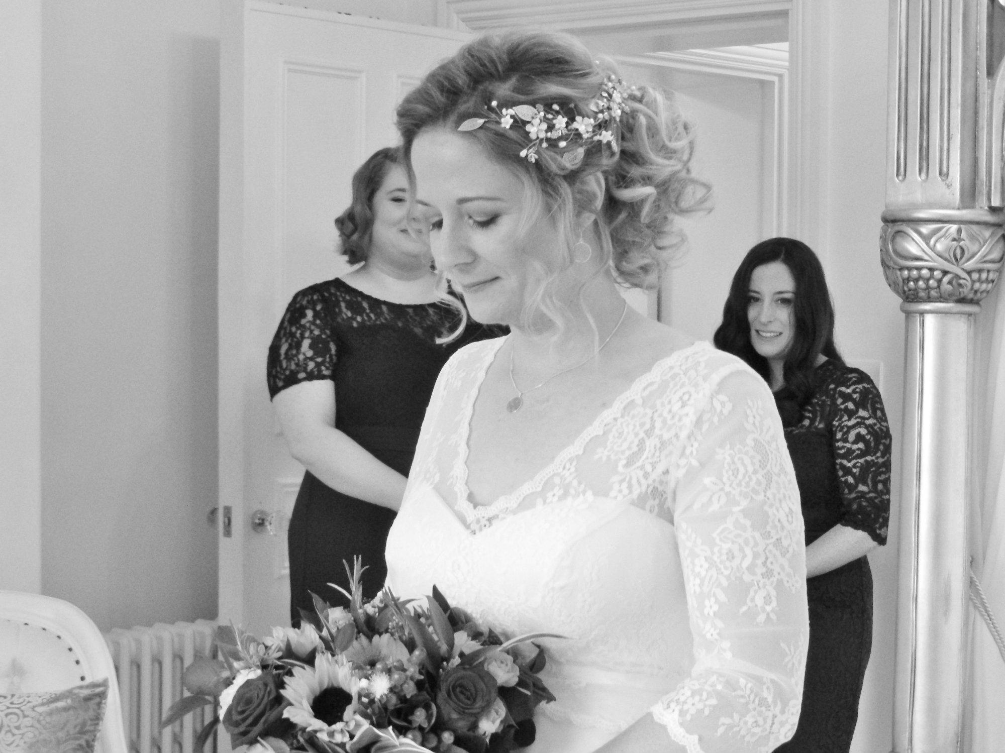 Bohemian-Bridal hair accessory-head piece-DSCN0653