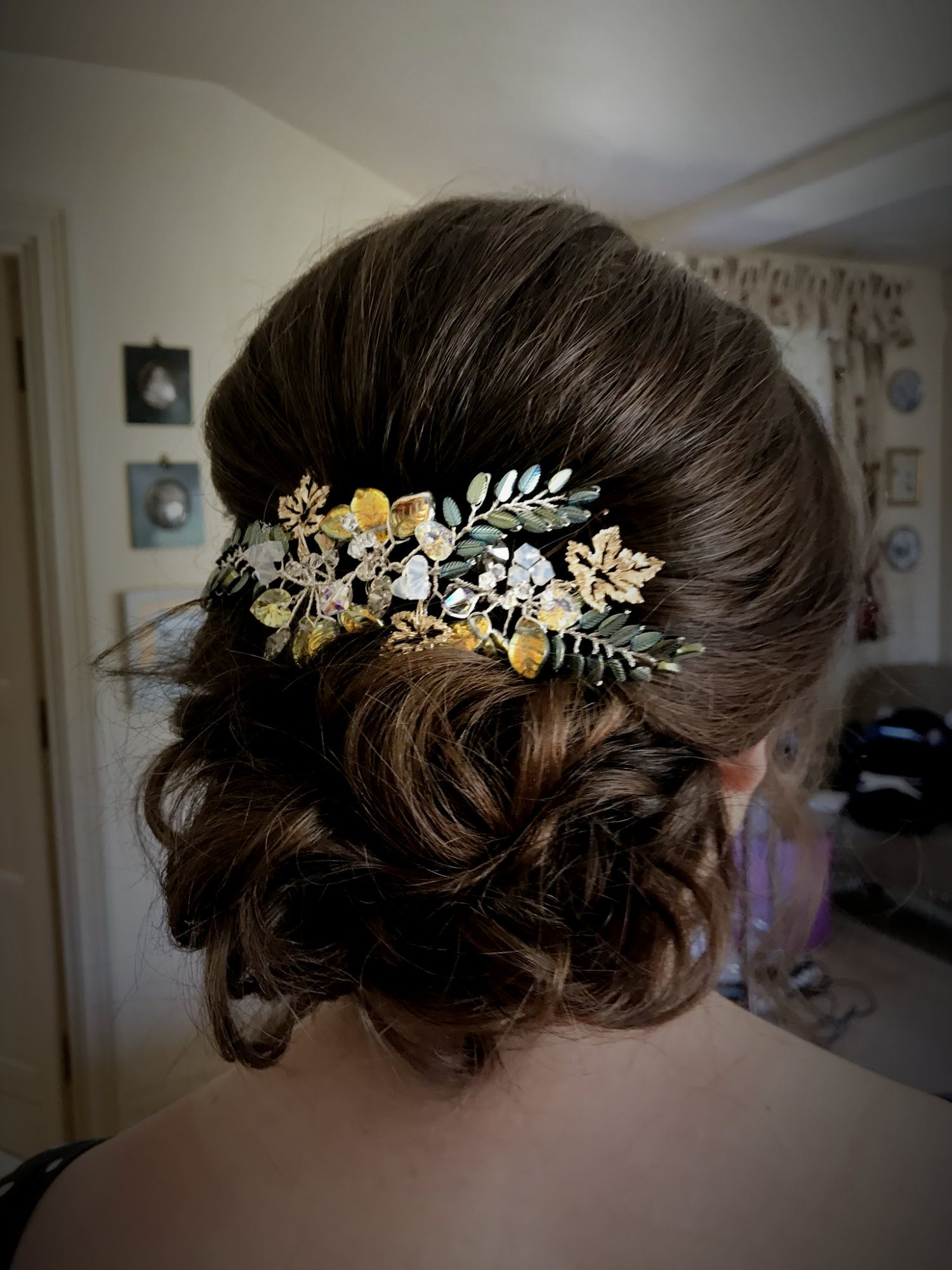 Bespoke floral occasion and wedding hair accessories-UK-Gloucestershire-Cotswolds