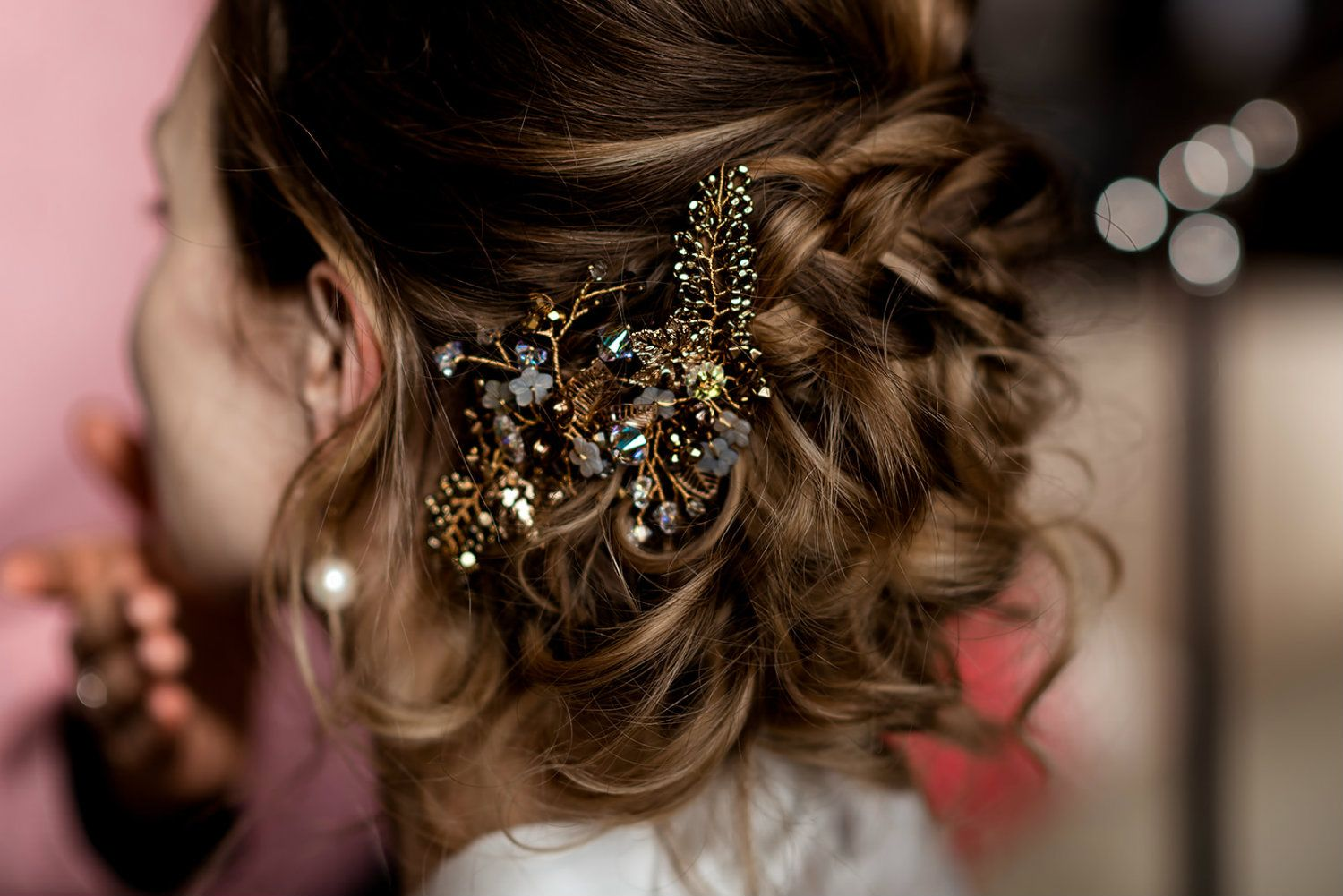 Bespoke bridal-bridesmaids-and -occasion hair accessories-UK