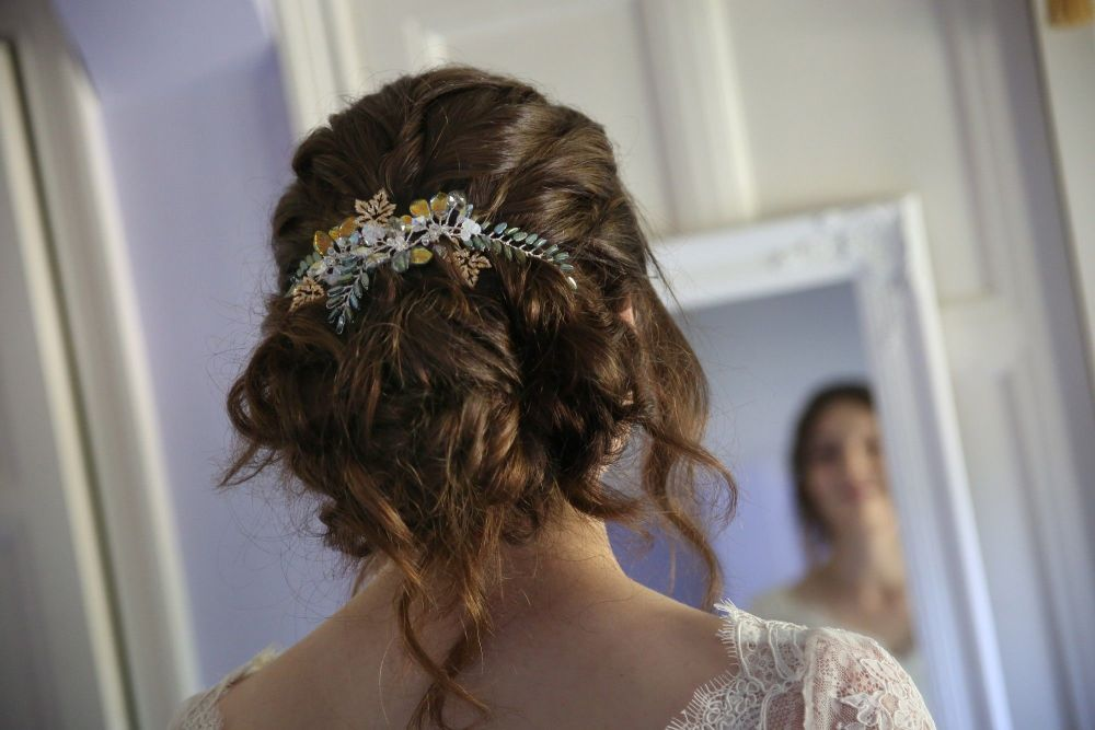 Custom made occasion hair accessories by Beady Bride-UK
