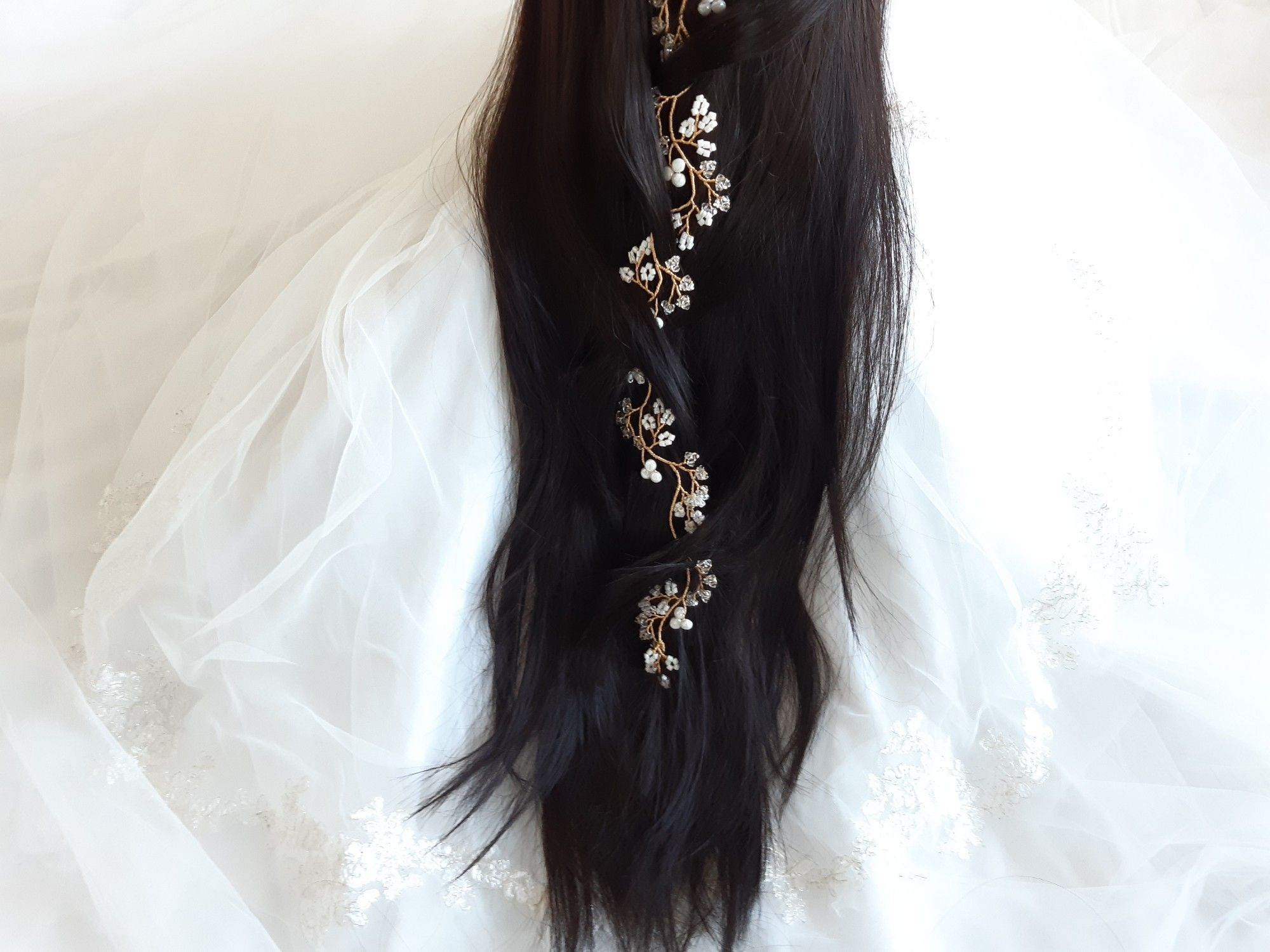 Custom made-Occasion and Wedding hair accessories-UK