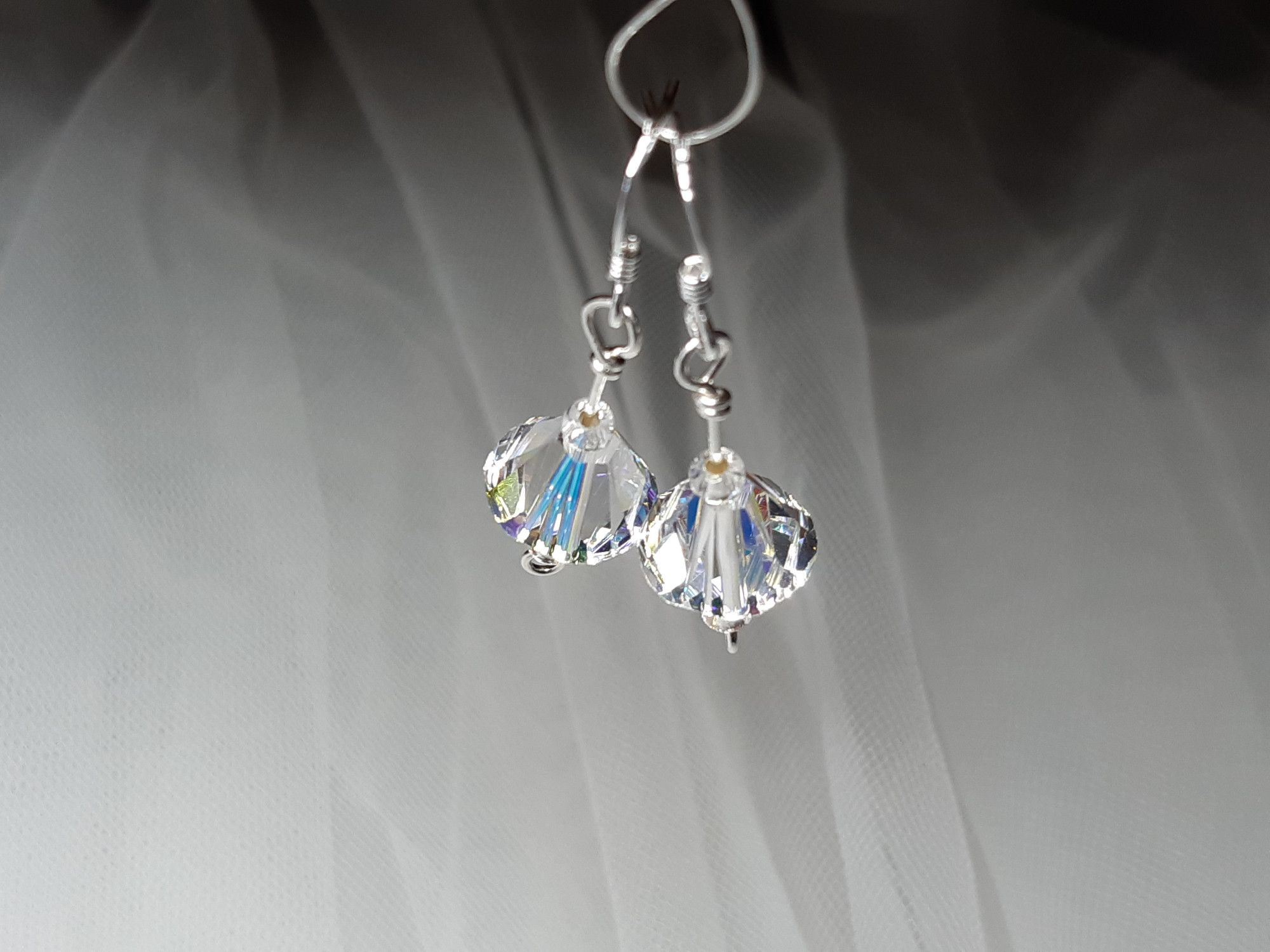 Occasion-wedding-swarovski crystal+sterling silver earrings-2.jpg