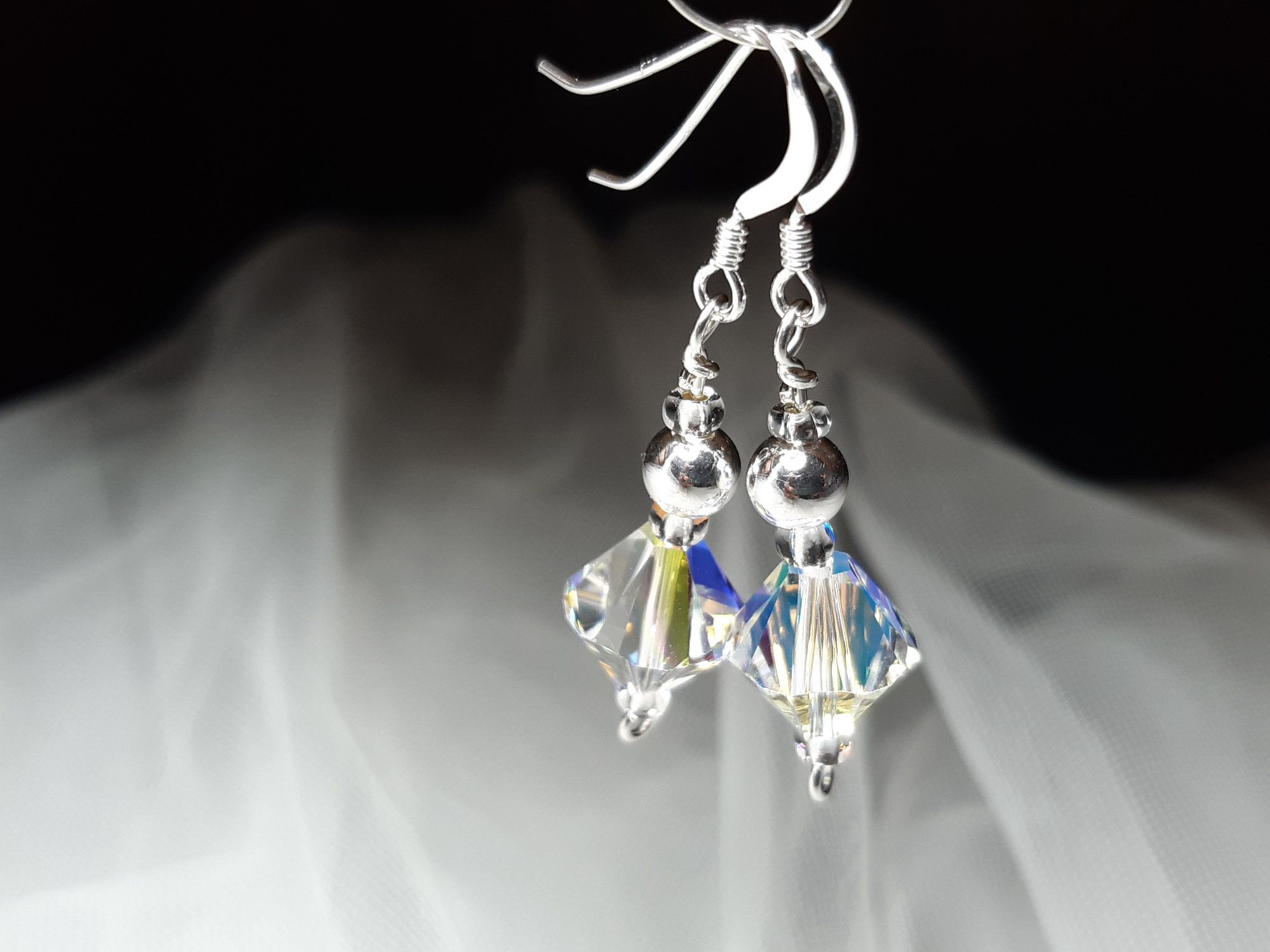 Occasion-bridal-wedding-swarovski crystal+sterling silver earrings-2.jpg