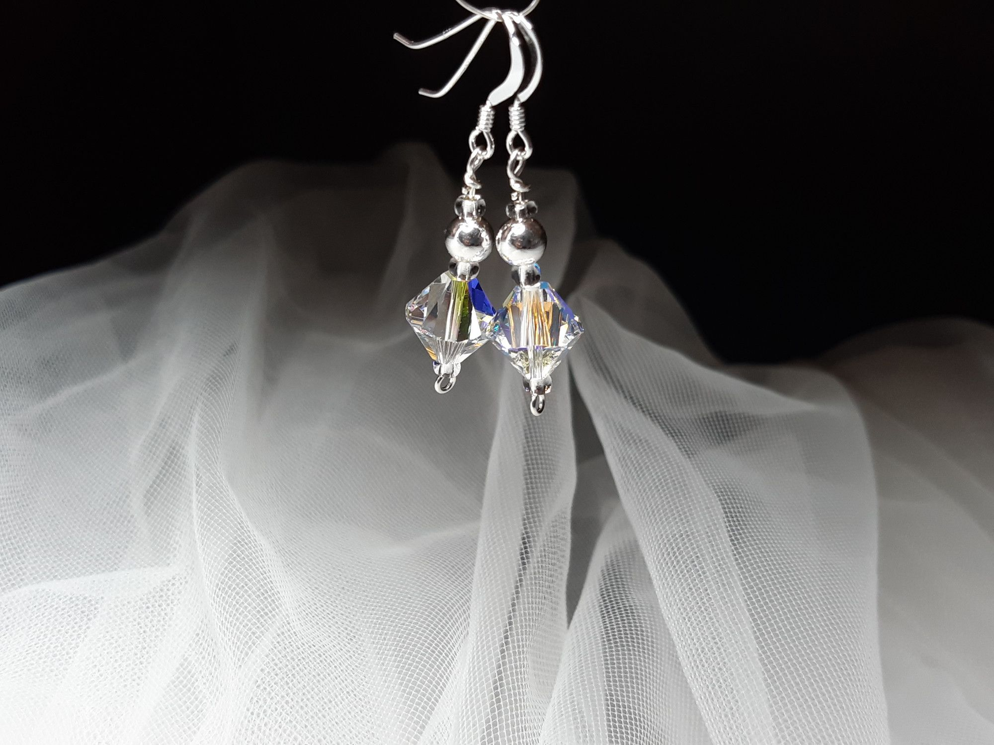 Occasion-bridal-wedding-swarovski crystal+sterling silver earrings-5.jpg
