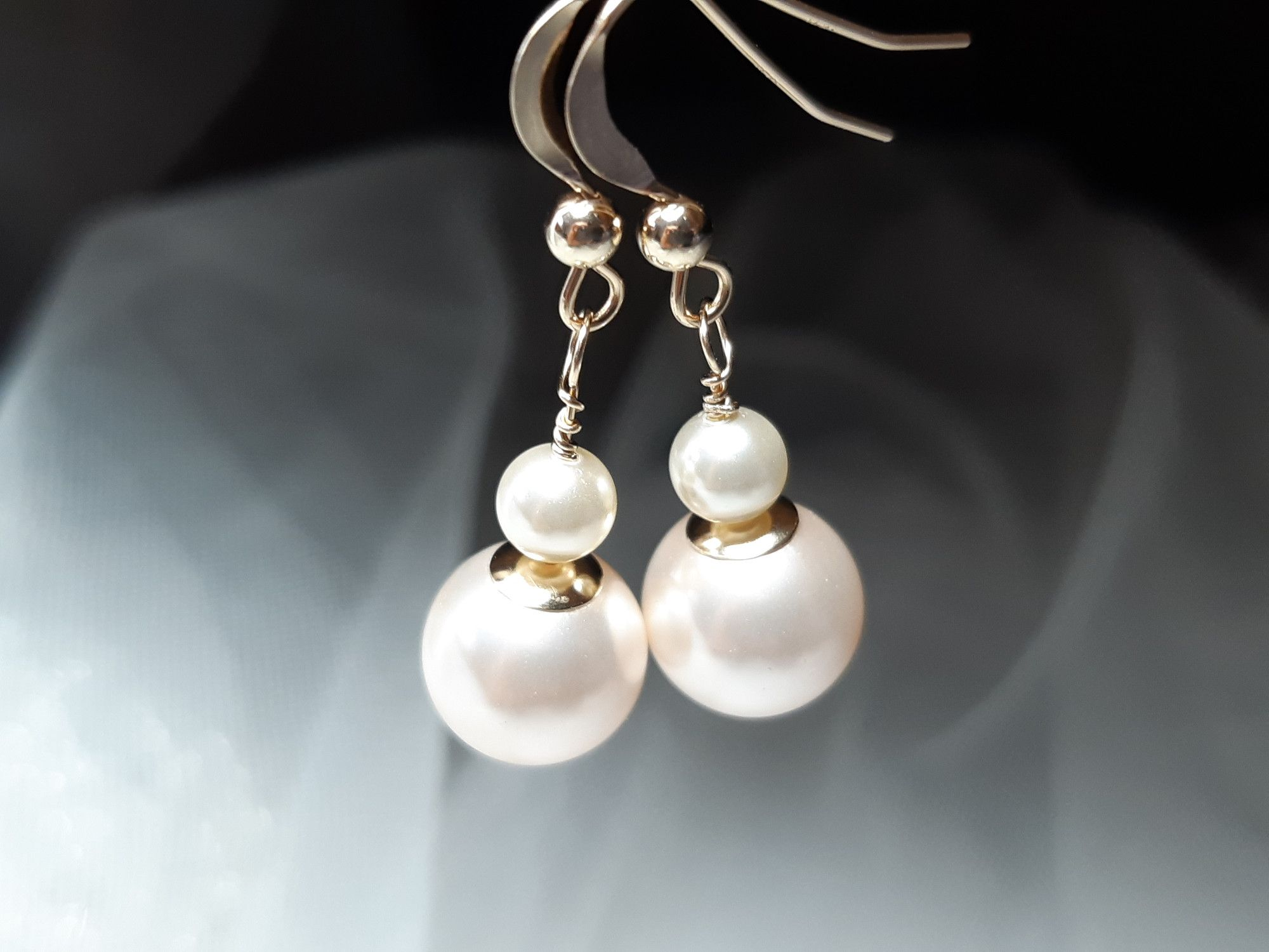 Occasion-bridal-wedding-earrings with 14K gold & pearls-5.jpg