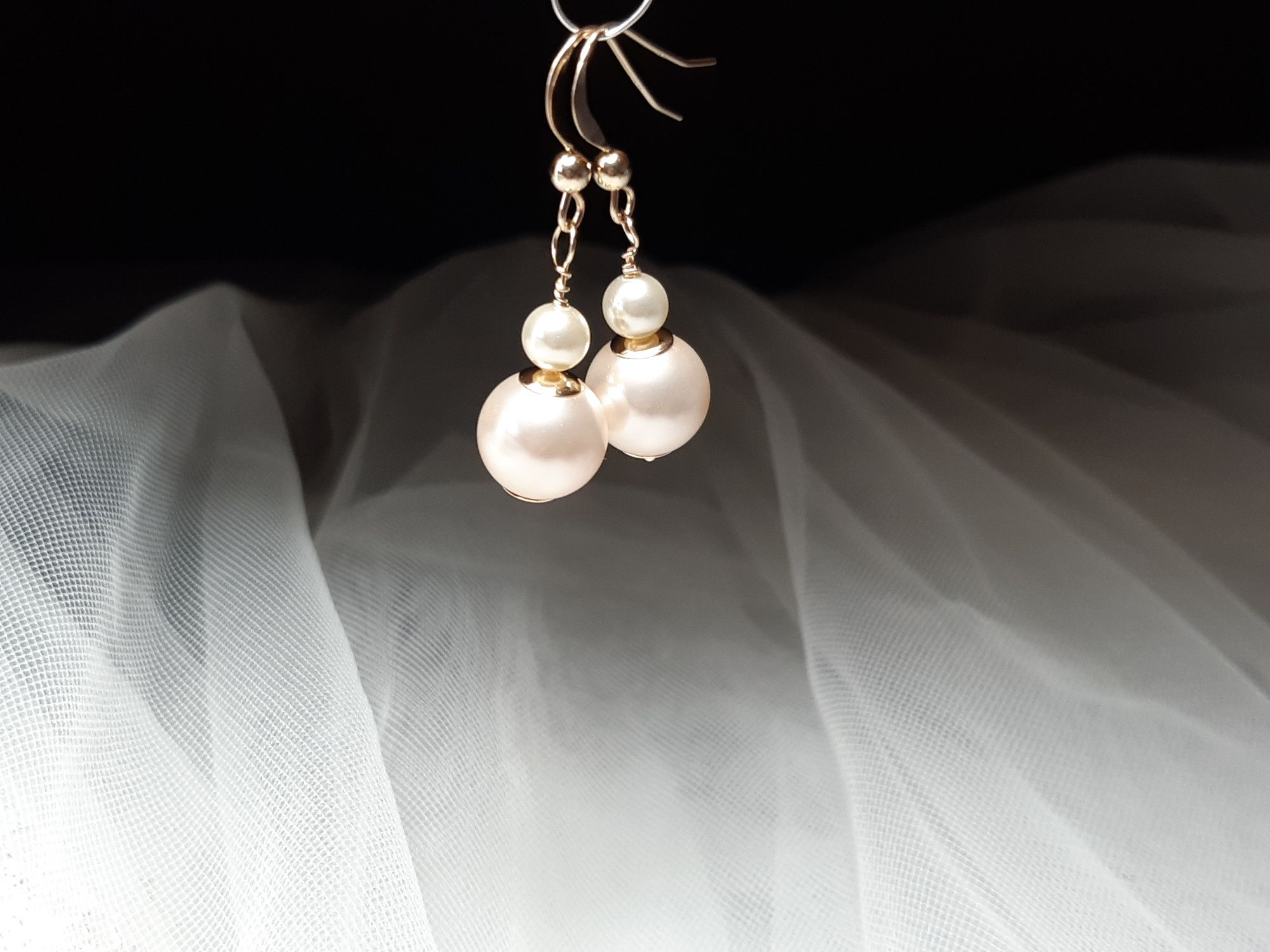 Occasion-bridal-wedding-earrings with 14K gold & pearls-6.jpg