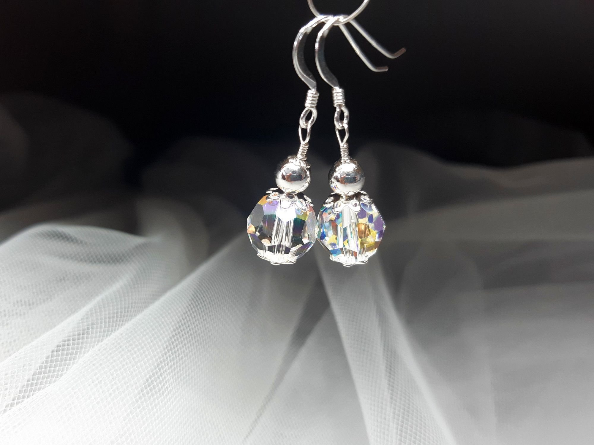 Occasion-bridal-earrings with swarovski crystal+sterling silver-3.jpg
