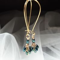 Emerald Green Occasion Earrings-Signature-EMRLDGRN4-6