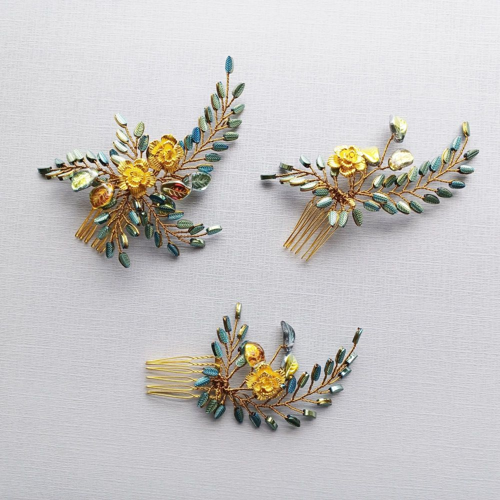 Signature summer/early autumn floral headpiece-0A-BBS-1-Maisie.3.set of 3 sizes