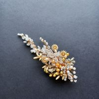 Autumnal floral occasion hair accessory-0A-BBS-Isabella.long