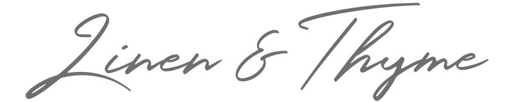 Linen & Thyme, site logo.
