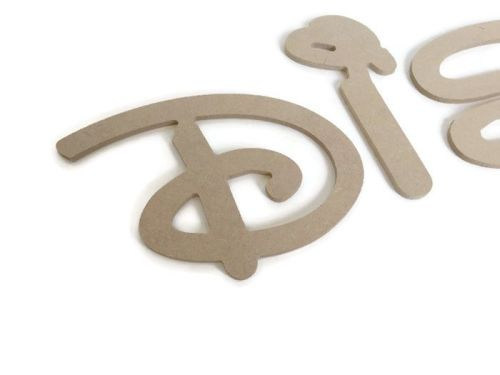 MDF Letters & Numbers 6mm Thick (Disney Font)